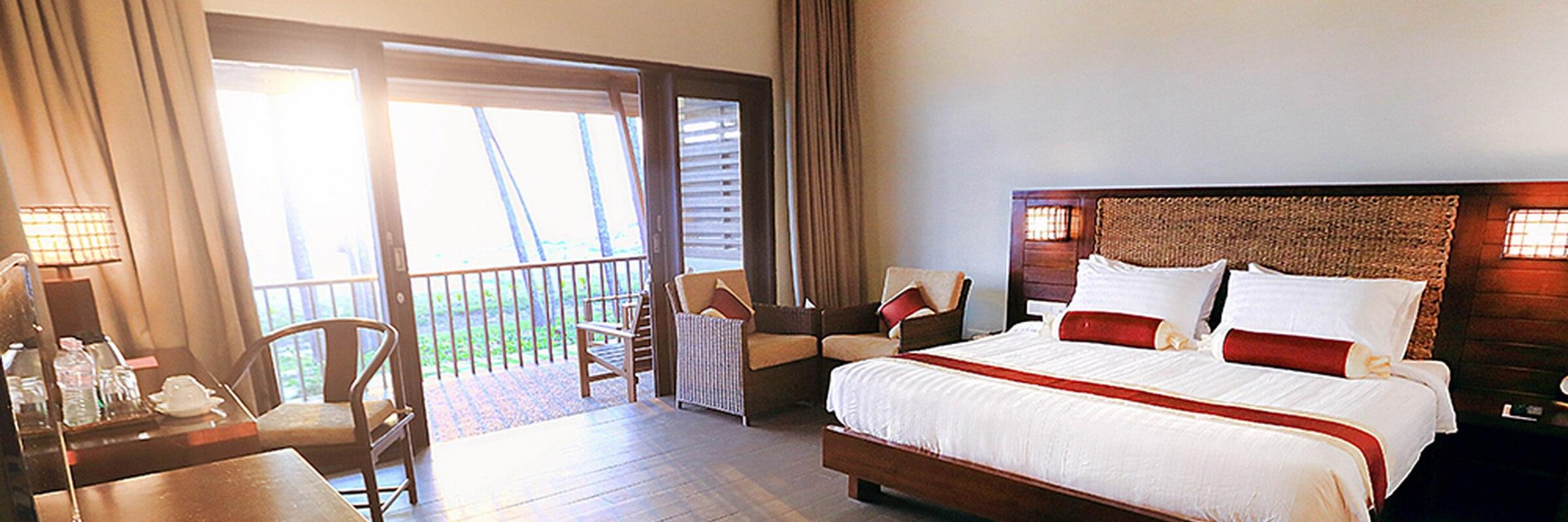 Die Innenansicht der einladenden Silver Villen im Eskala Hotel & Resort
