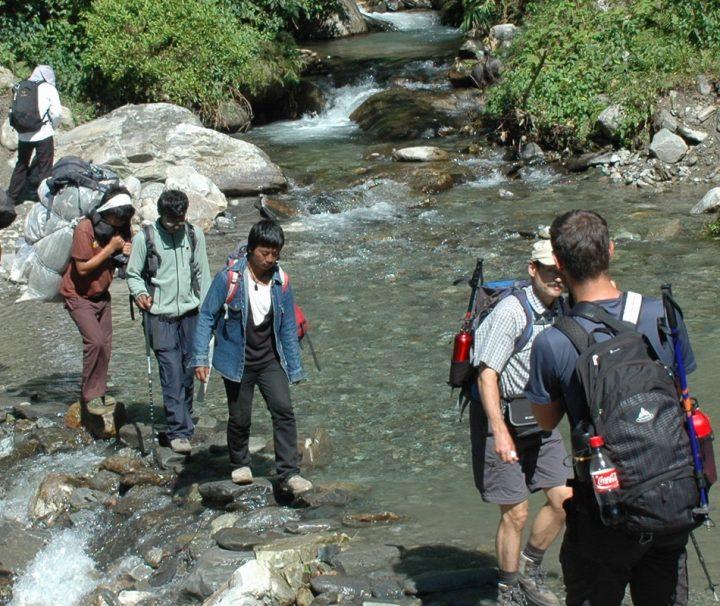 Ghandruk ist beliebter Ausgangpunkt für zahlreiche Trekkingtouren mit Wanderwegen unterschiedlichen Schwierigkeitsgrades.