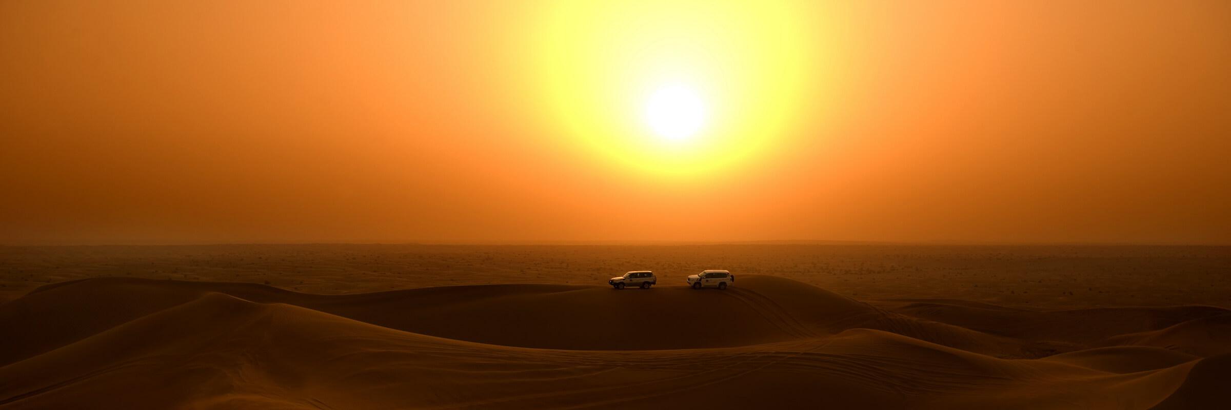 Beste Reisezeit V. A. Emirate