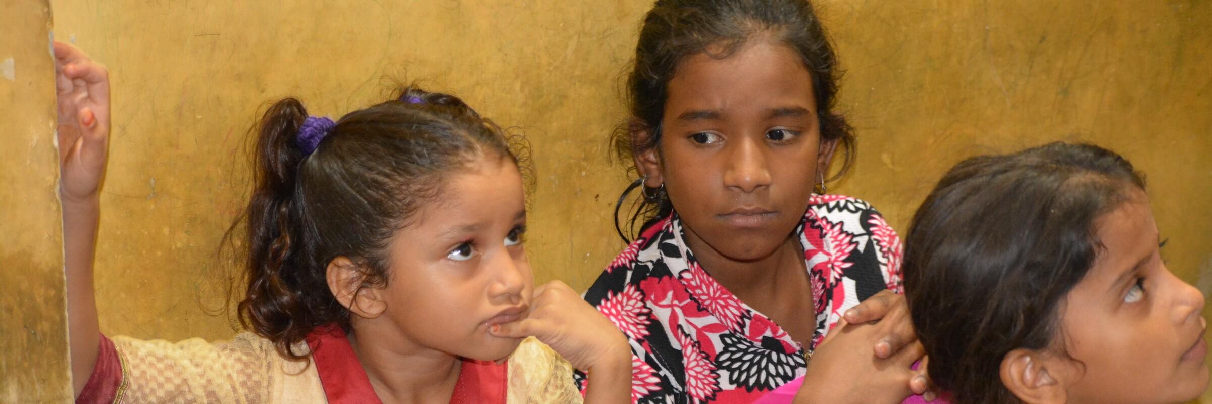 Während der Nordindien Reise besuchen Sie ein Projekt das sich um benachteiligte Kinder kümmert