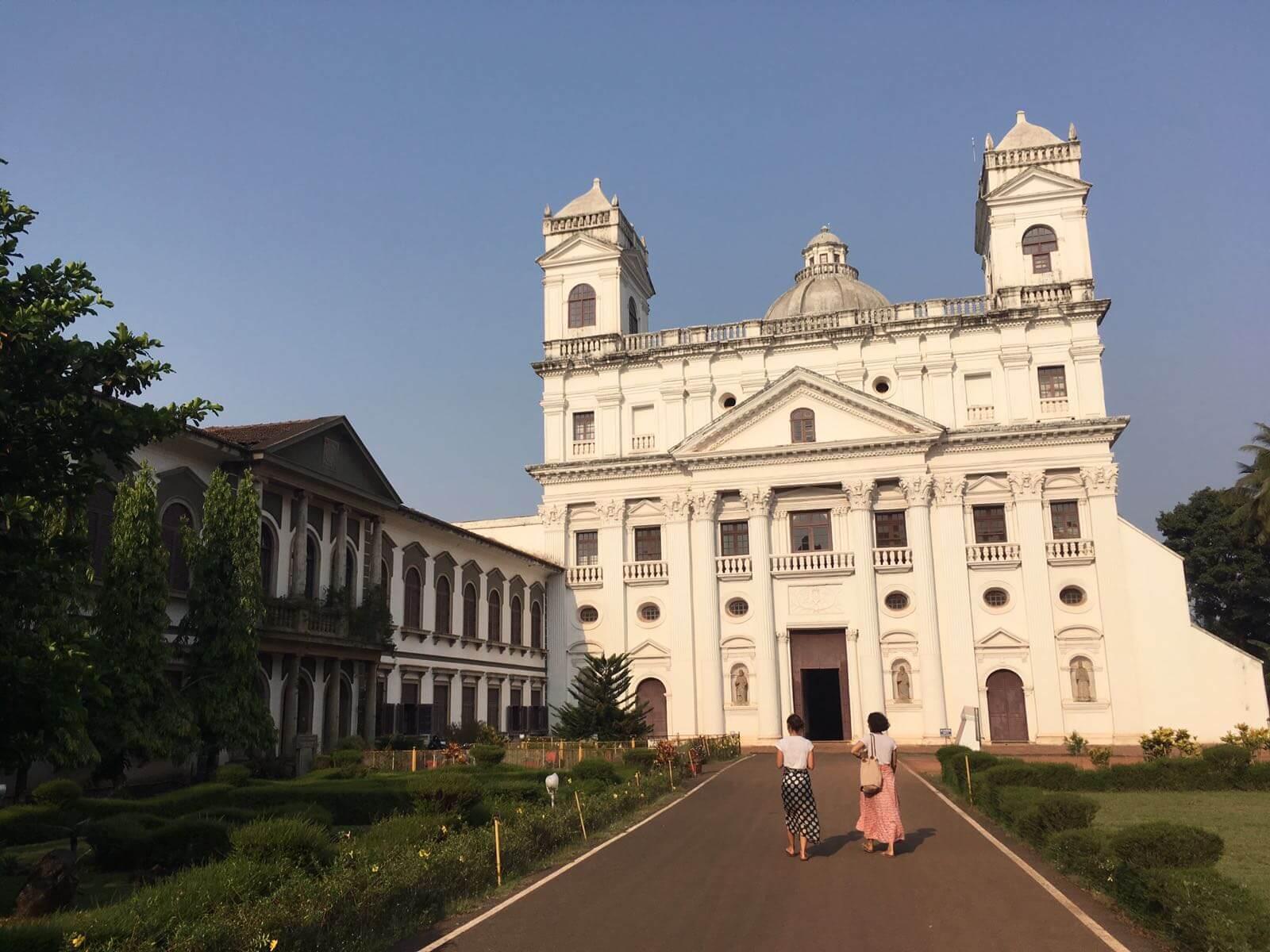 Das Zentrum der Kirchen, Old Goa