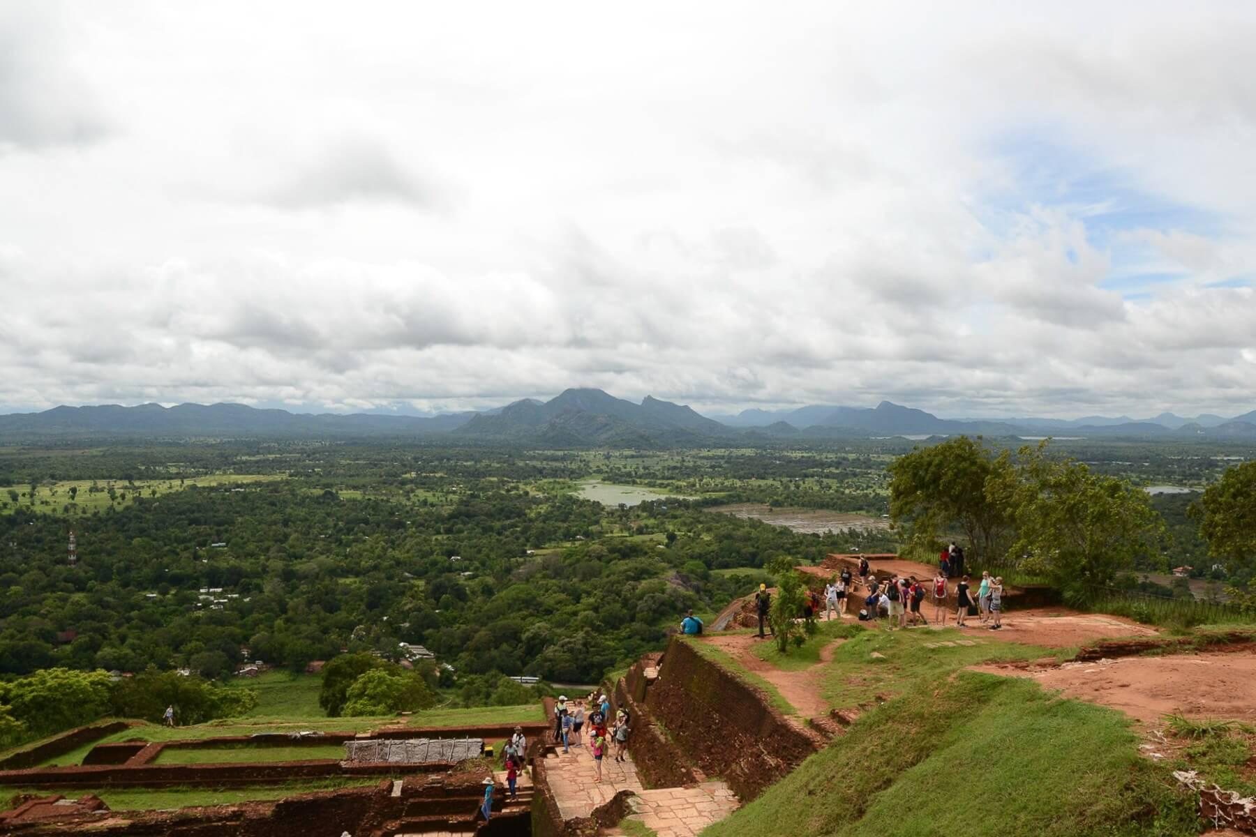 Aussicht vom Plateau des Löwenfelsens