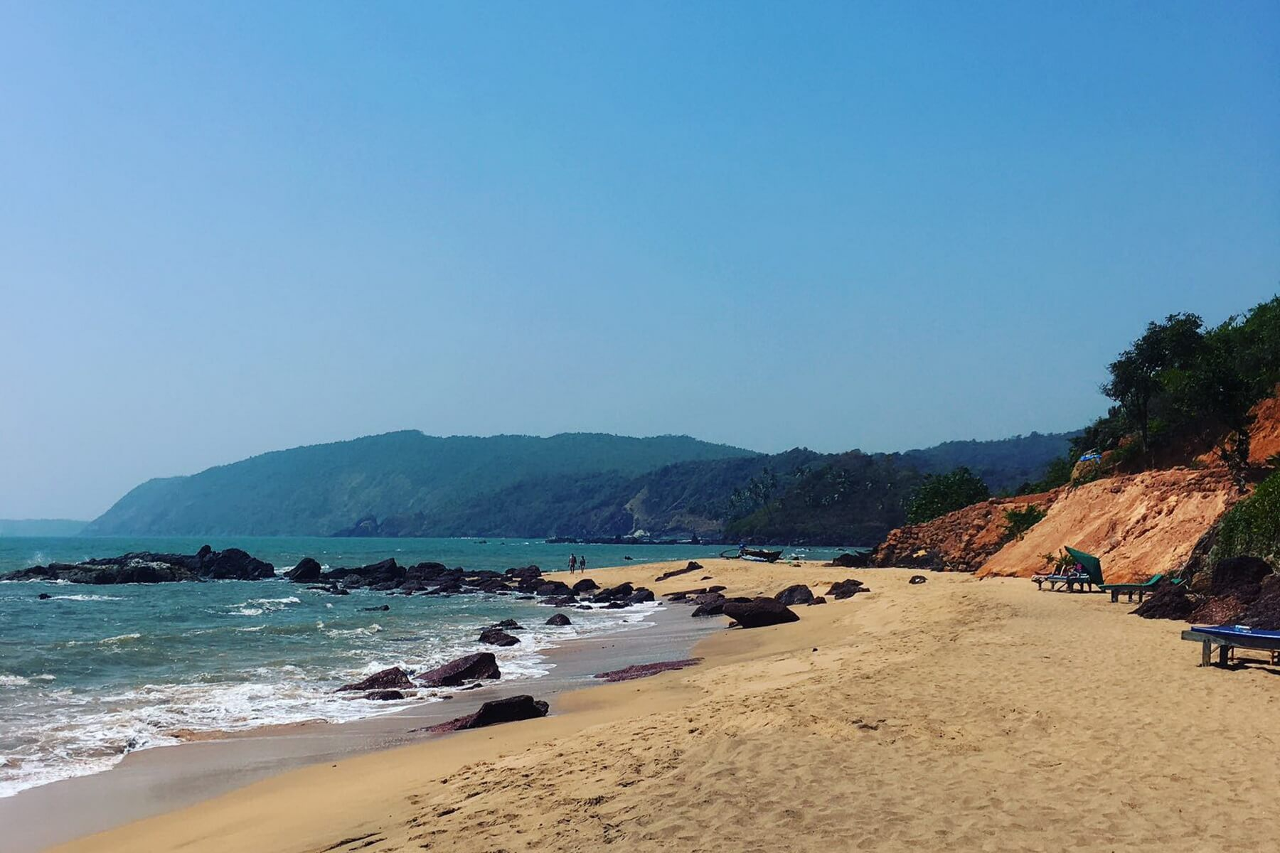Kohla Beach in Goa