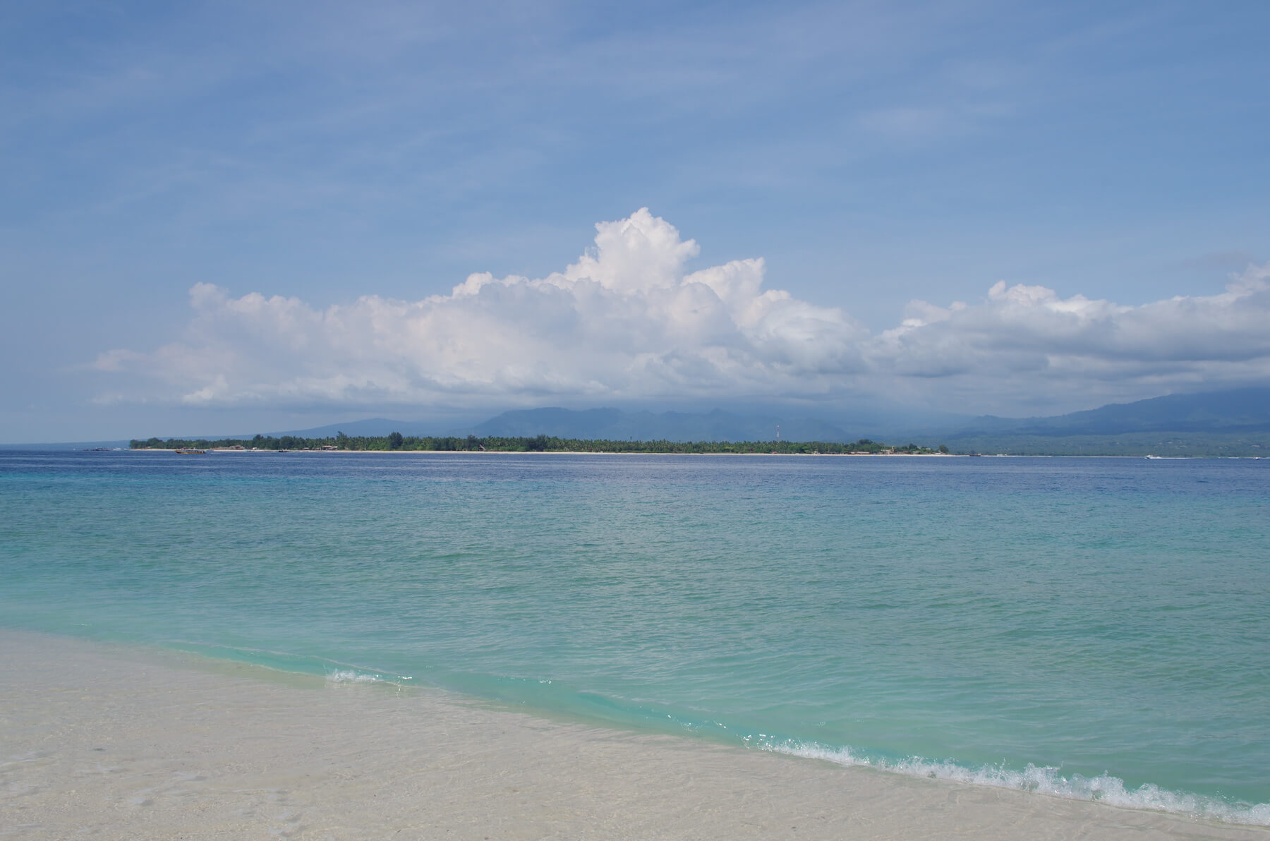 Inselhopping in Indonesien auf Gili Meno