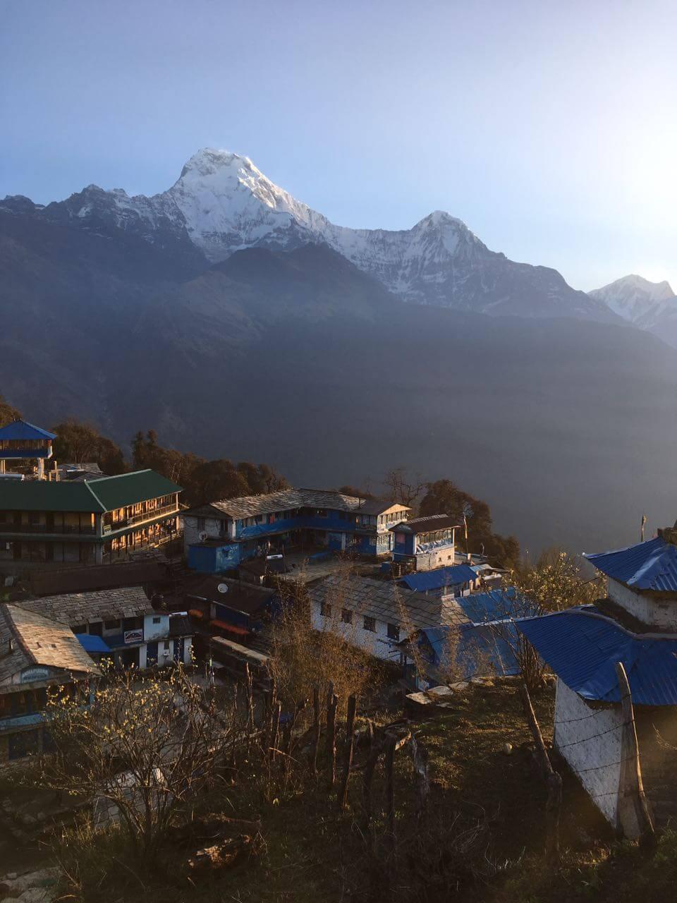 Nepal Berglandschaft