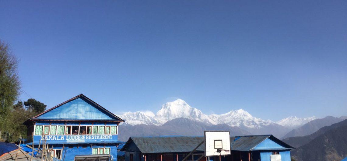 Die Kamala Lodge ist ein beliebter Zwischenstopp bei Trekkingreisenden in Nepal.