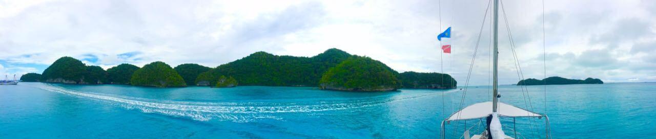 Segeltörn Palau