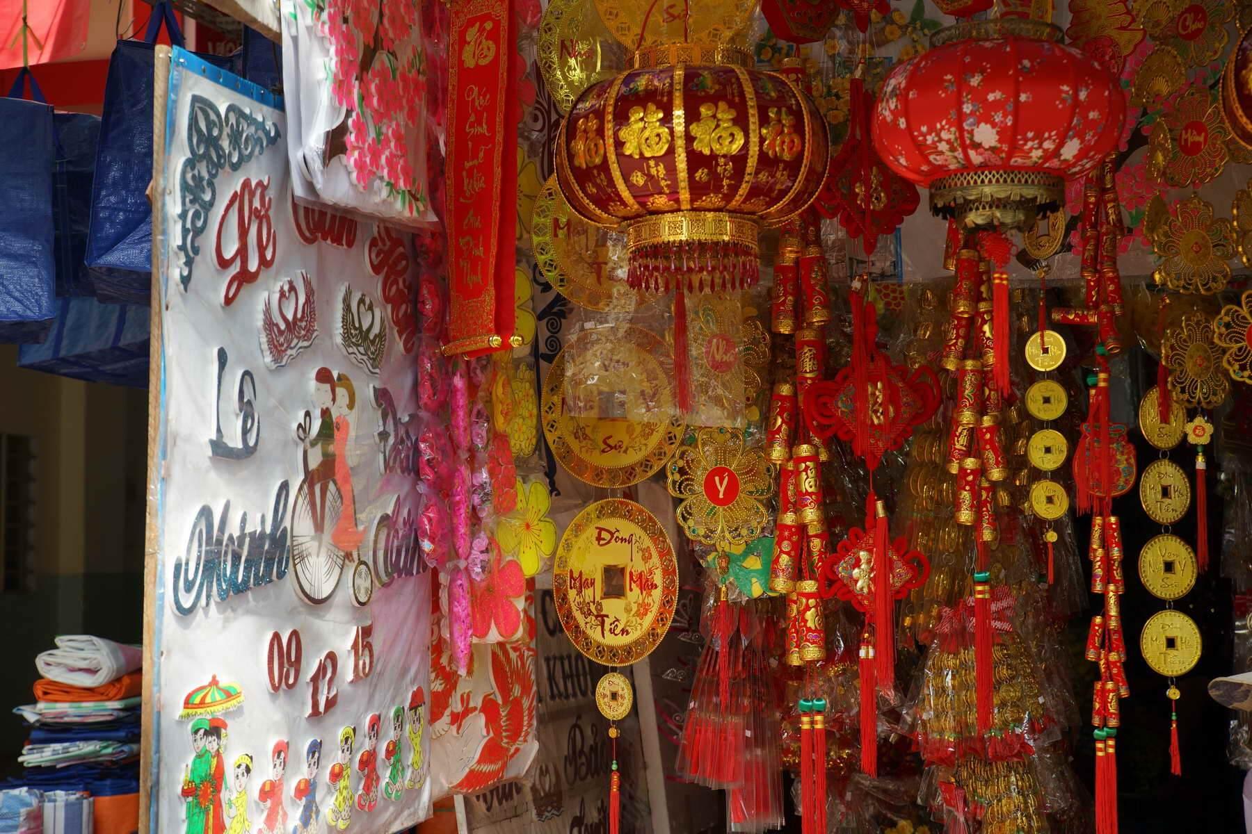 Tet-Festival Vietnam Eindrücke