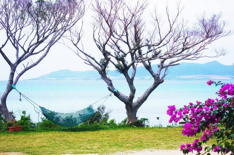 Entspannung beim Badeurlaub in Japan