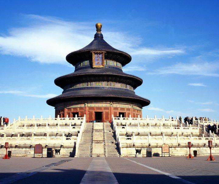 Der Himmelstempel ist eine Tempelanlage in Peking, in der die Kaiser der Ming- und Qing-Dynastien jedes Jahr für eine gute Ernte beteten.