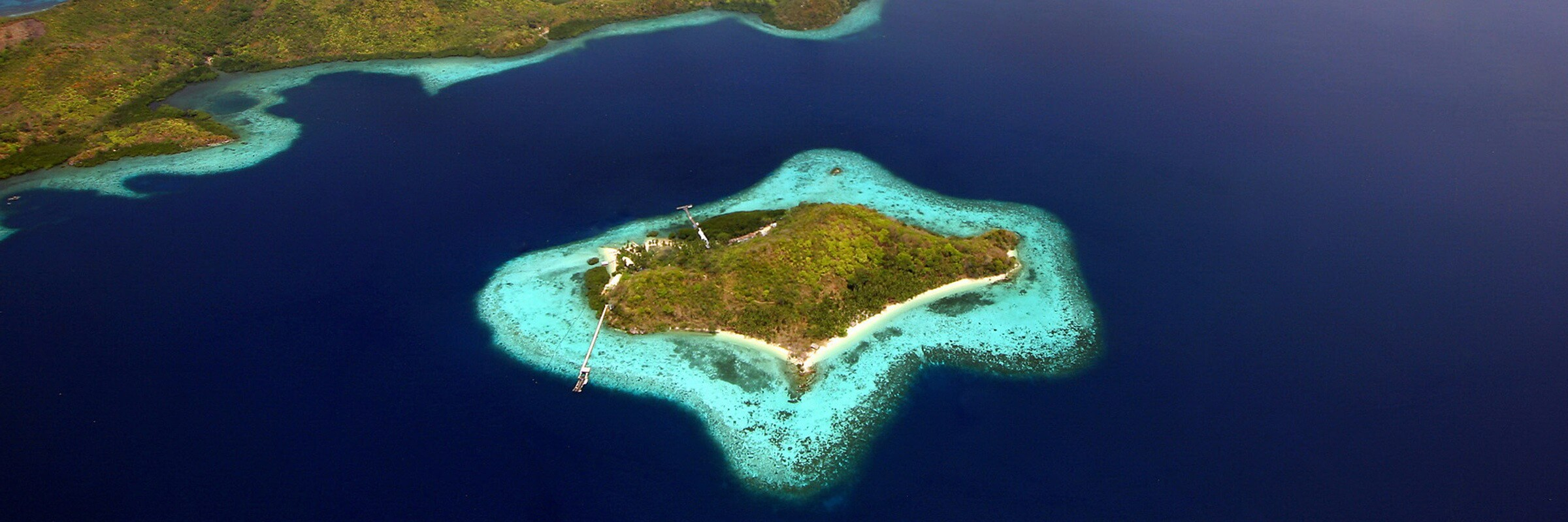 Palawan, das philippinisches Inselparadies ist ein grünes Juwel