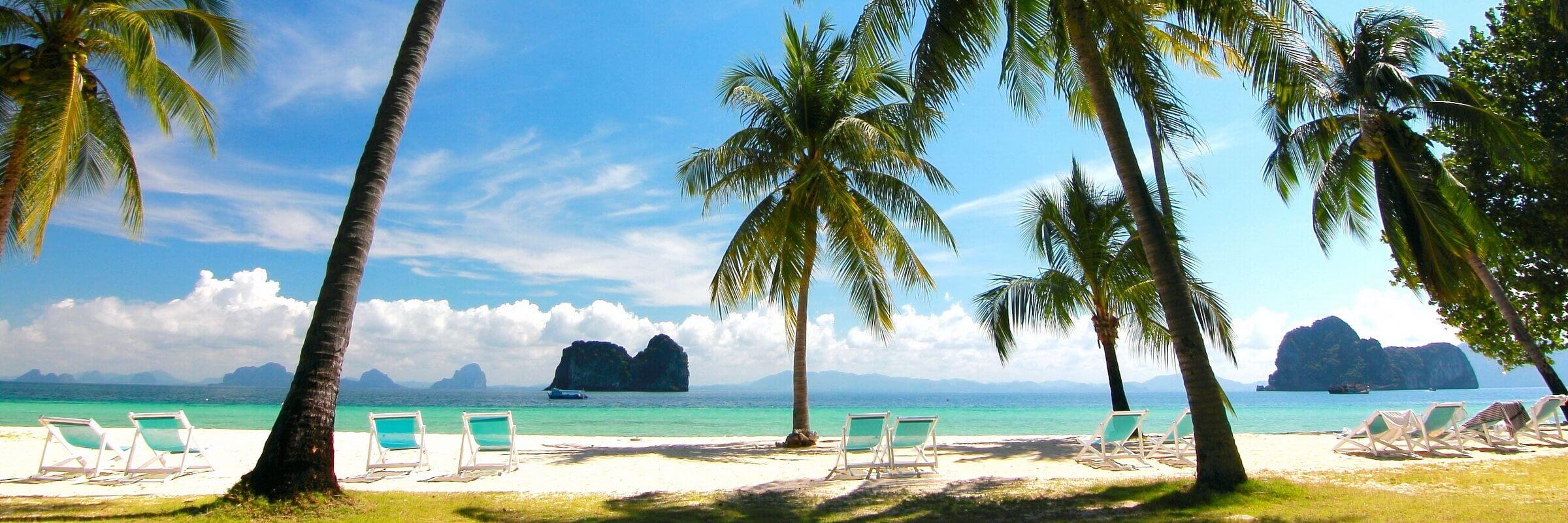 Koh Hai ist mit einer Größe von nur 5 qm eine der kleinsten touristisch genutzten Inseln von Thailand.