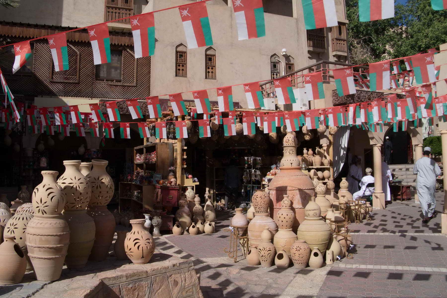 Das echte Leben bekommen Sie am besten auf den Marktplätzen vom Oman