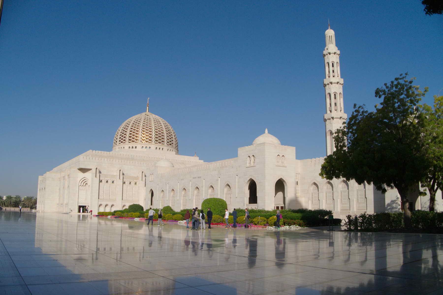 Die große Moschee in Omans Hauptstadt
