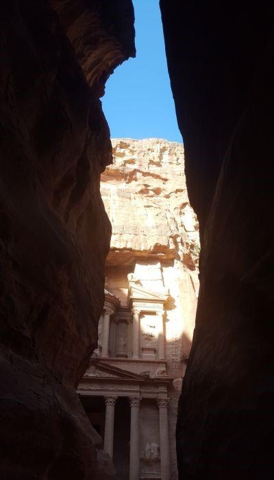 Die Stadt Petra ist eine der Top Sehenswürdigkeiten in Jordanien