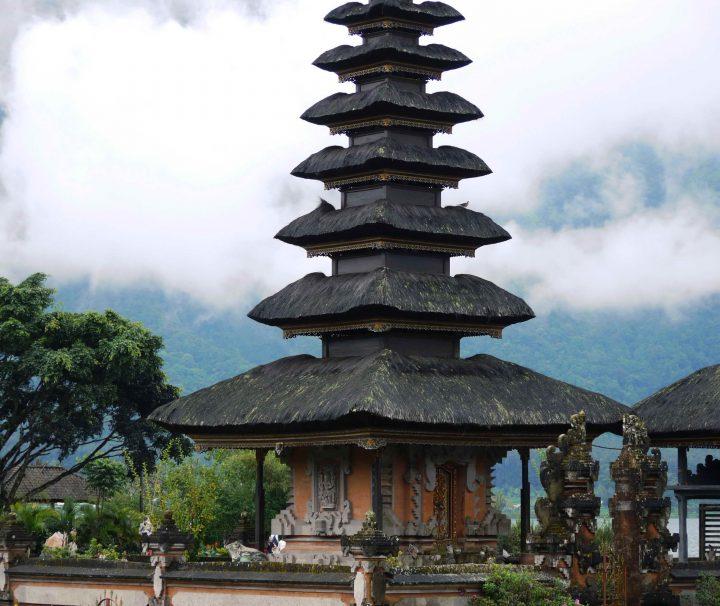 Ulunb Danu Tempel auf Bali in Indonesien