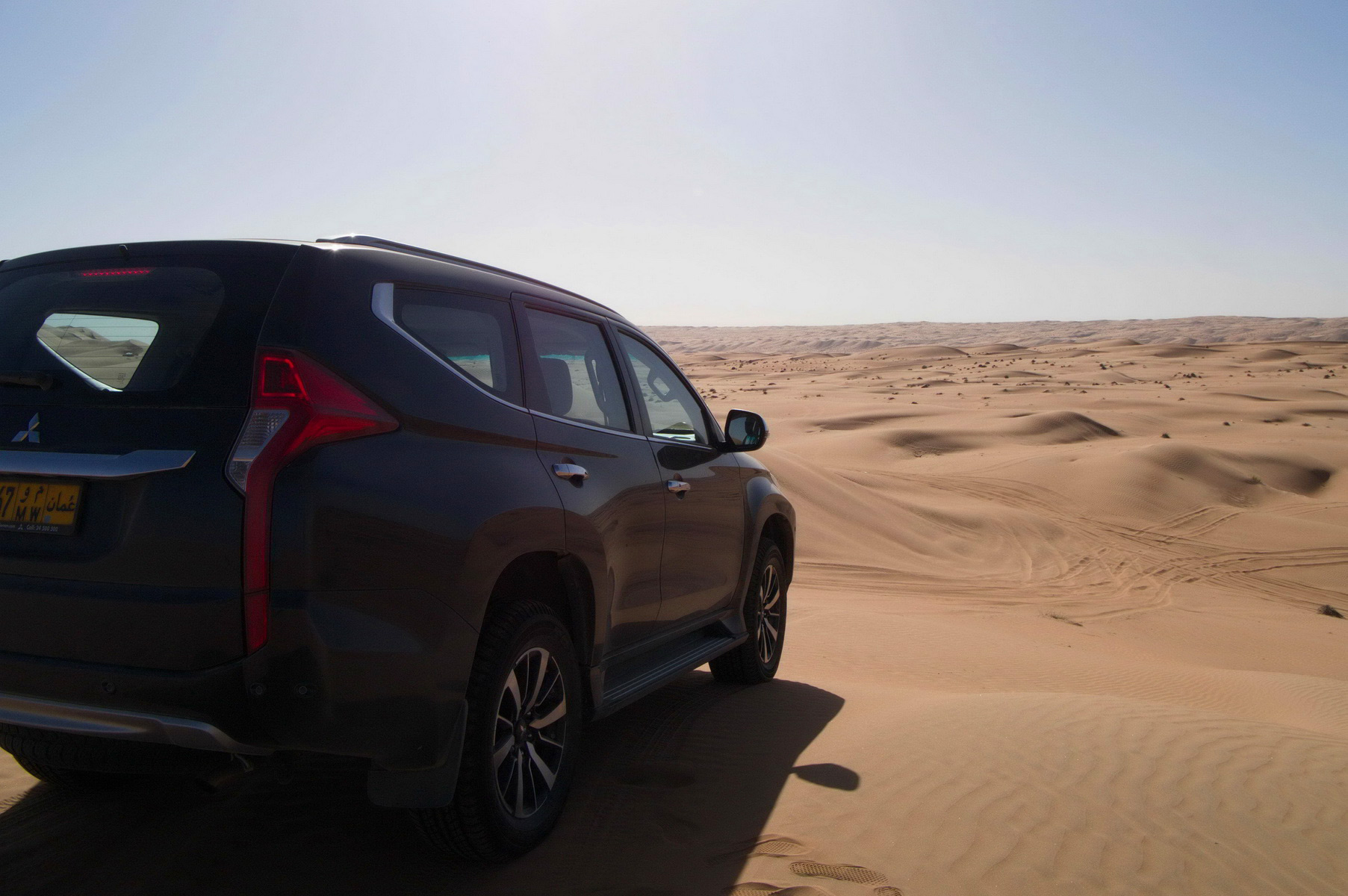 Mit der 4x4 durch die Wüste im Oman, auch für Selbstfahrer möglich
