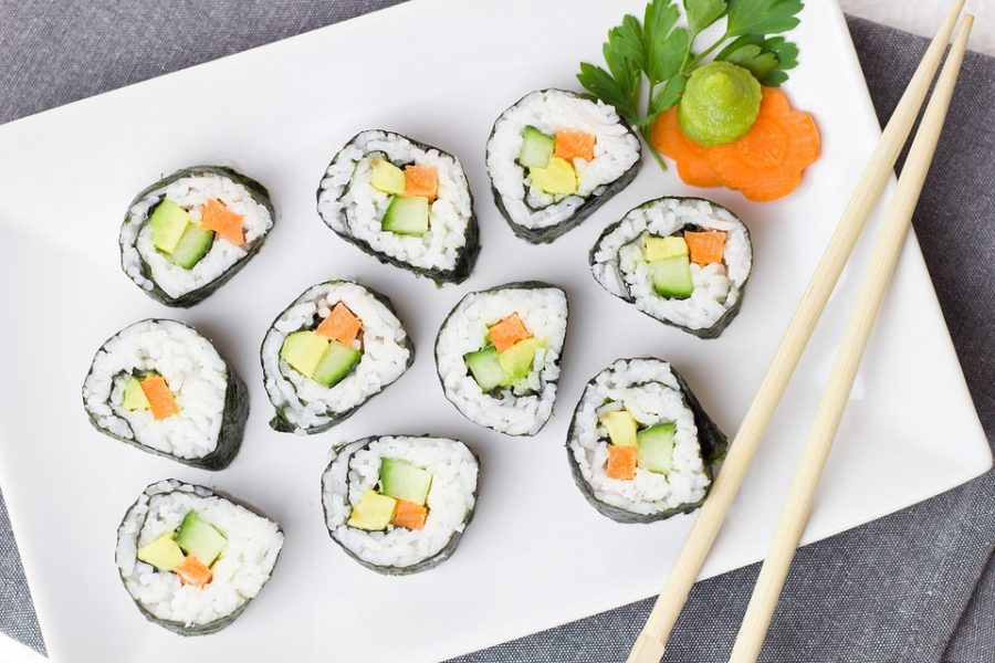 Sushi Japan vegane Version