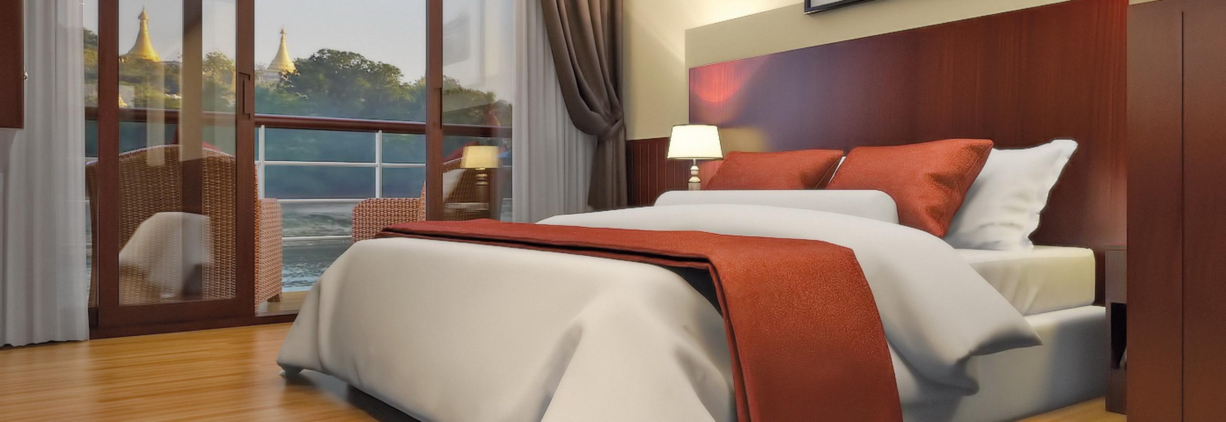 Die RV Thurgau Exotic 3 verfügt über 2 Bettkabinen und Suiten
