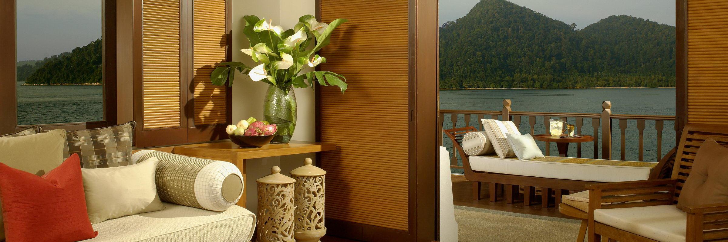 Hill Villa Zimmer im Pangkor Laut Resort in Malaysia