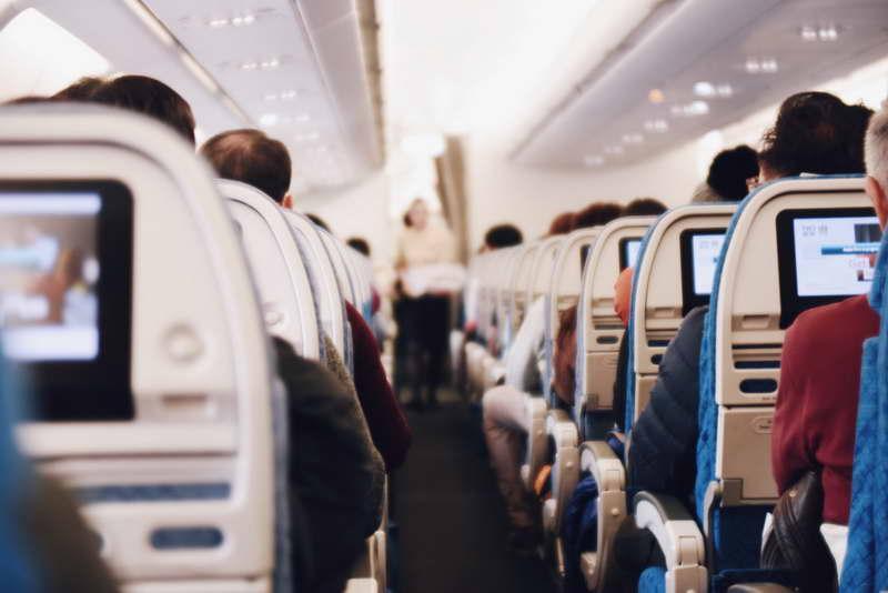 Langstreckenflug nach Asien