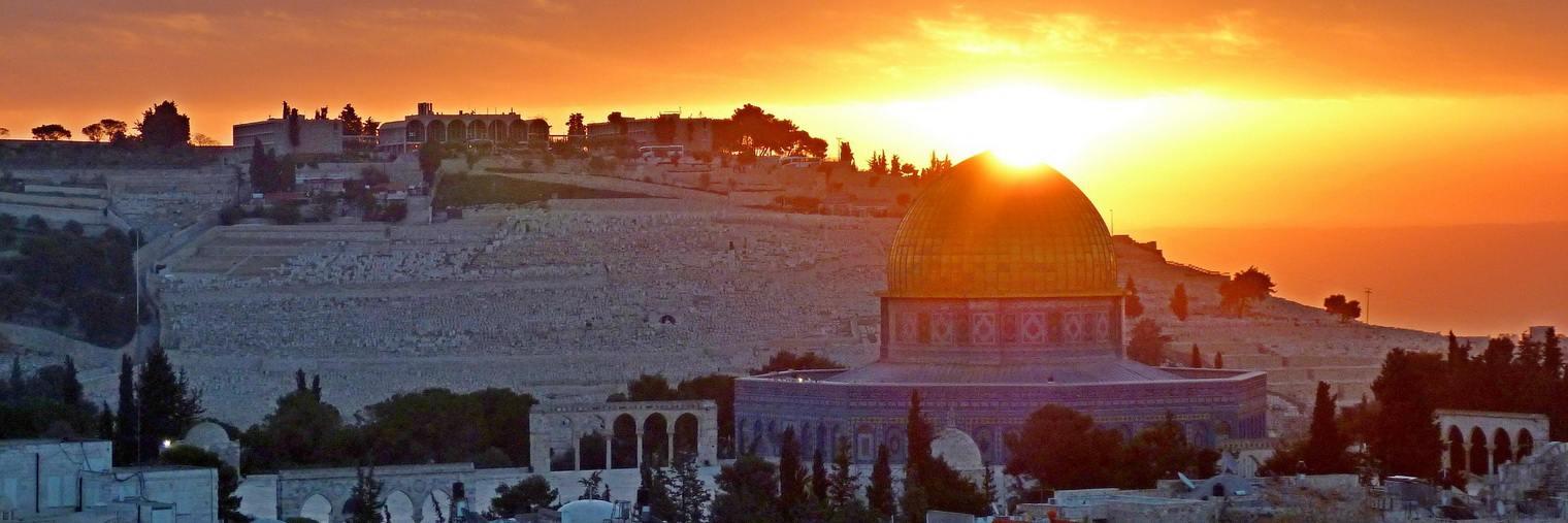 Der in Jerusalem gelegene Felsendom ist der älteste monumentale Sakralbau des Islams.