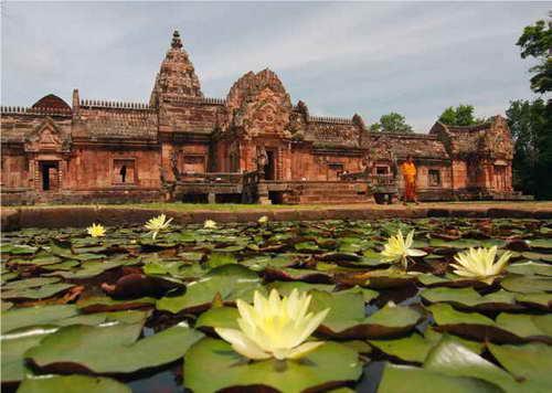 Tempelbau im Isaan – Ostthailand