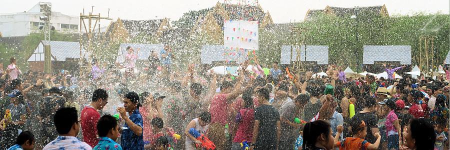 Songkran Fest in Thailand