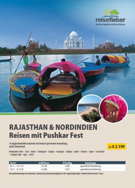 Entdecken Sie unsere Indien Reisen auf unserem Flyer