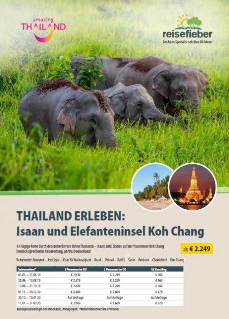 Entdecken Sie unsere Thailand Reisen auf unserem Flyer
