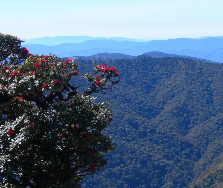 Die bergige Landschaft im Chin-Staat im Westen von Myanmar lädt zu ausgedehnten Wander- und Trekkingtouren ein.
