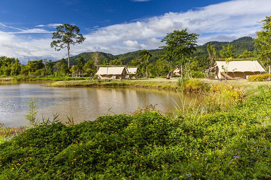 Das Lala Mukha Camp im thailändischen Khao Yai Nationalpark