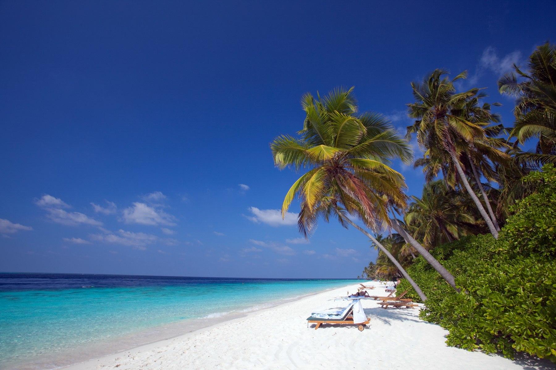 Traumstrand auf Filitheyo Island – Sri Lanka und Malediven