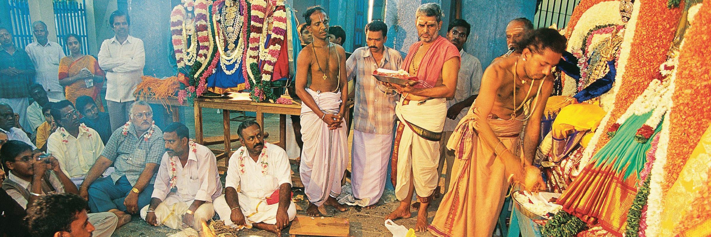 Puducherry ist im südlichen Teil Indiens gelegen und ca. 135 km von Chennai entfernt.