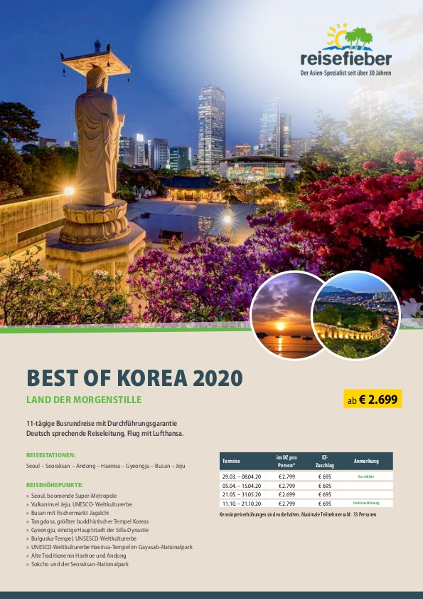 Best of Korea 2020