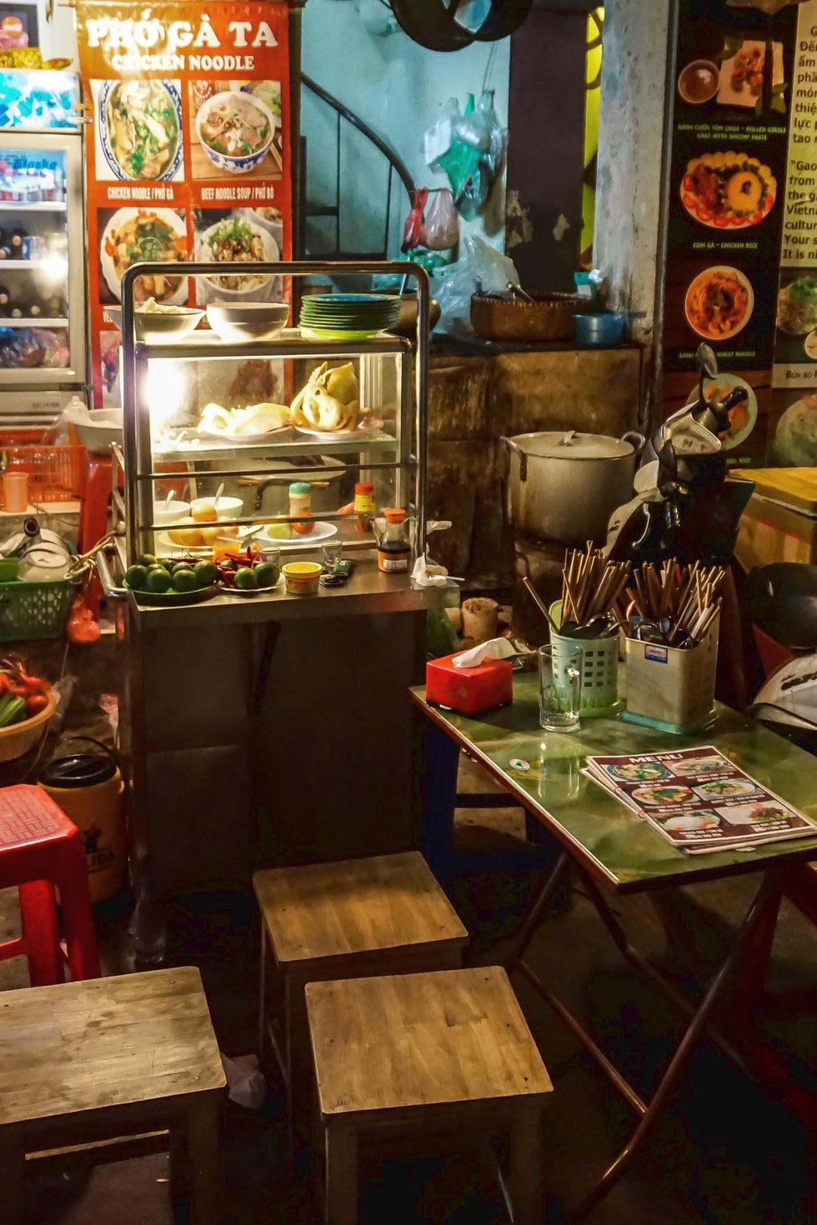 Kleines Street Food Restaurant in Vietnam