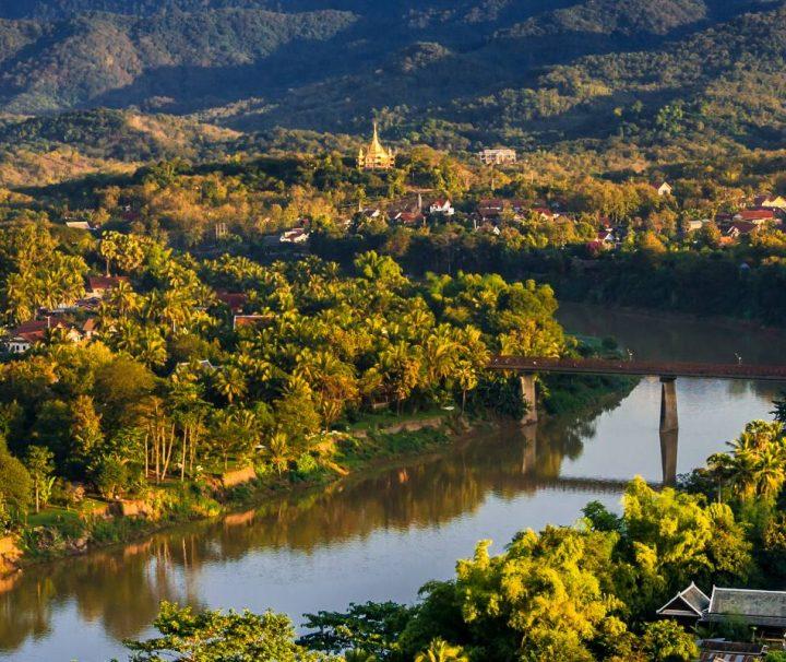 Kreuzfahrt Laos Kambodscha – Das im bergigen Norden von Laos gelegene Luang Prabang ist Hauptstadt der gleichnamigen Provinz.