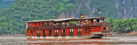 Die Mekong Sun wurde 2005 in Laos gebaut und 2016 komplett renoviert, sie verfügt über 14 Kabinen auf 2 Decks.